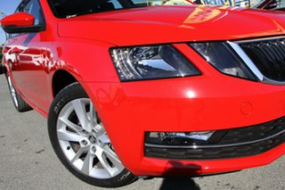2019 Skoda Octavia NE MY20 110TSI DSG Corrida Red 7 Speed Sports Automatic Dual Clutch Wagon.
