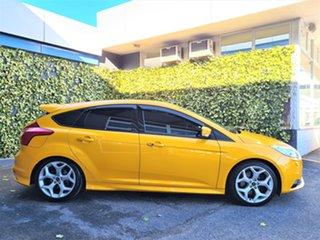 2012 Ford Focus LW MkII ST Orange 6 Speed Manual Hatchback.