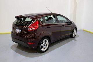 2013 Ford Fiesta WT Zetec PwrShift Purple/Black 6 Speed Sports Automatic Dual Clutch Hatchback