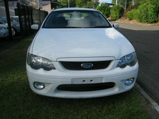 2007 Ford Falcon BF MkII XR6 6spd White 6 Speed Automatic Sedan.