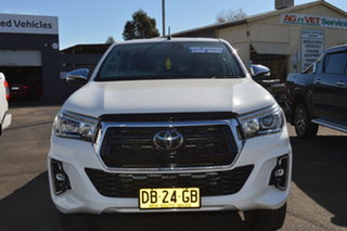 2019 Toyota Hilux GUN126R MY19 SR5 (4x4) 6 Speed Manual Double Cab Pick Up.