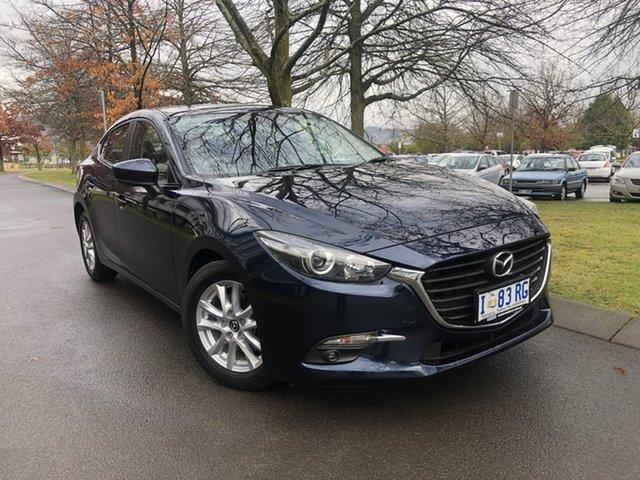 Used Mazda 3 BM5278 Touring SKYACTIV-Drive Launceston, 2016 Mazda 3 BM5278 Touring SKYACTIV-Drive Blue 6 Speed Sports Automatic Sedan
