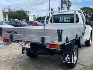 2021 Mitsubishi Triton MR MY21 GLX White 6 Speed Sports Automatic Cab Chassis.