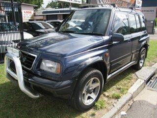 1995 Suzuki Vitara Blue 4 Speed Automatic Wagon.
