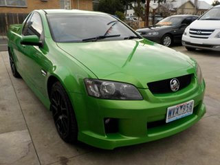 2008 Holden Commodore VE SV6 Green 5 Speed Automatic Utility.