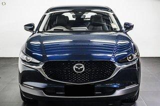 2021 Mazda CX-30 DM2WLA G25 SKYACTIV-Drive Touring Blue 6 Speed Sports Automatic Wagon.