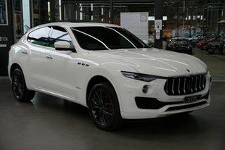 2018 Maserati Levante M161 MY18 GranLusso Q4 White 8 Speed Sports Automatic Wagon