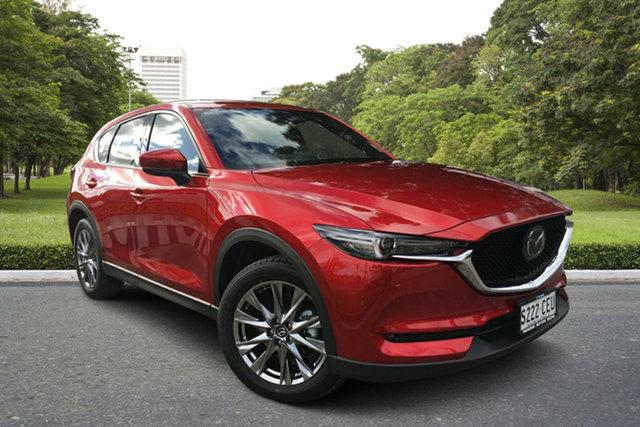 Demo Mazda CX-5 KF4WLA Akera SKYACTIV-Drive i-ACTIV AWD Paradise, 2020 Mazda CX-5 KF4WLA Akera SKYACTIV-Drive i-ACTIV AWD Soul Red 6 Speed Sports Automatic Wagon