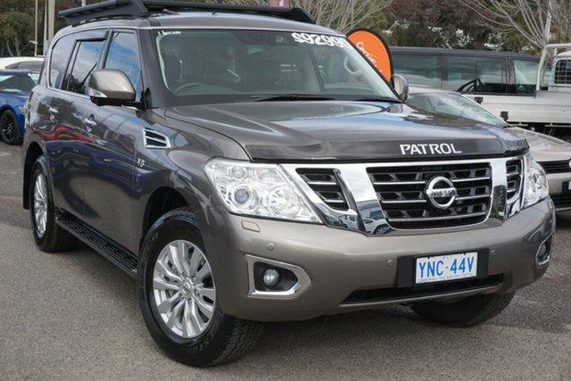 Used Nissan Patrol Y62 Series 4 TI-L Phillip, 2019 Nissan Patrol Y62 Series 4 TI-L Silver 7 Speed Sports Automatic Wagon