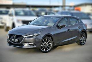 2018 Mazda 3 BN5438 SP25 SKYACTIV-Drive Astina Grey 6 Speed Sports Automatic Hatchback.