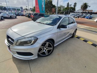 2014 Mercedes-Benz A250 176 MY15 Sport Silver 7 Speed Automatic Hatchback.