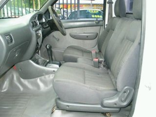 2005 Ford Courier PH GL Auto White 4 Speed Automatic Cab Chassis