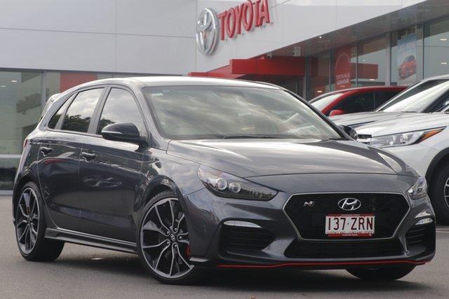 Pre-Owned Hyundai i30 PDe.2 MY19 N Performance Woolloongabba, 2019 Hyundai i30 PDe.2 MY19 N Performance Grey 6 Speed Manual Hatchback