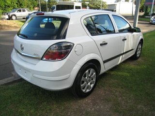 2008 Holden Astra AH Auto 60th Anniversary White 4 Speed Automatic Hatchback