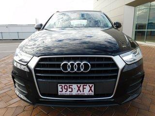 2017 Audi Q3 8U MY17 TFSI S Tronic Black 6 Speed Sports Automatic Dual Clutch Wagon
