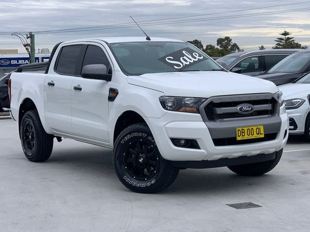 Used Ford Ranger PX MkII XLS Double Cab Liverpool, 2016 Ford Ranger PX MkII XLS Double Cab White 6 Speed Sports Automatic Utility