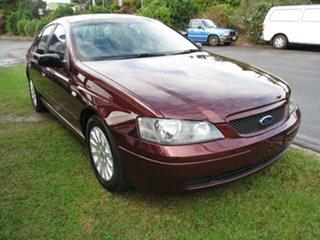 2004 Ford Falcon BA CentreLink Finance $66 P/W Maroon 4 Speed Auto Seq Sportshift Sedan.