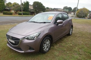 2015 Mazda 2 DJ2HA6 Maxx SKYACTIV-MT Pink 6 Speed Manual Hatchback.
