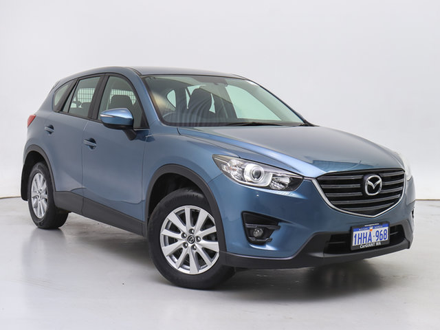 Used Mazda CX-5 MY15 Maxx Sport (4x4), 2015 Mazda CX-5 MY15 Maxx Sport (4x4) Blue 6 Speed Automatic Wagon