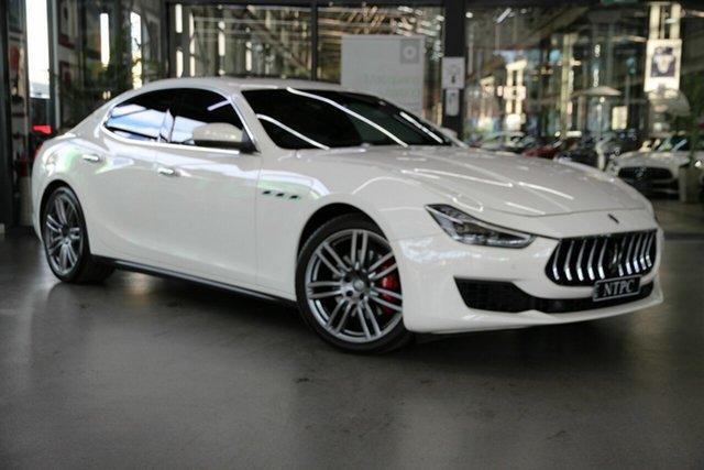Used Maserati Ghibli M157 MY18 North Melbourne, 2017 Maserati Ghibli M157 MY18 White 8 Speed Sports Automatic Sedan