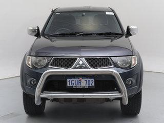 2009 Mitsubishi Triton MN MY10 GLX-R (4x4) Grey 5 Speed Manual 4x4 Double Cab Utility.