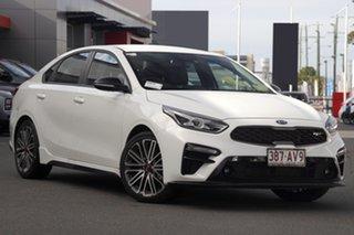 2020 Kia Cerato BD MY21 GT DCT Clear White 7 Speed Sports Automatic Dual Clutch Sedan.