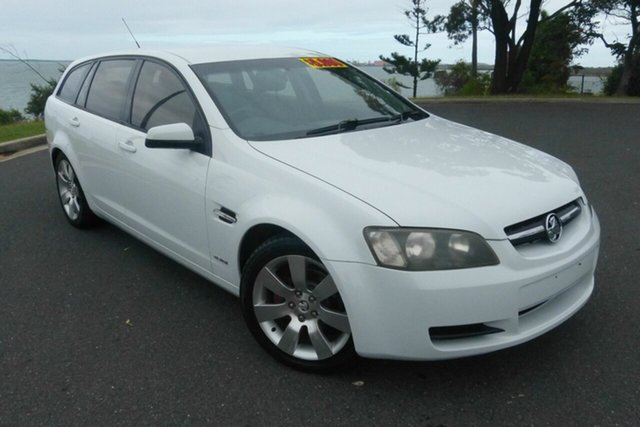 Used Holden Commodore VE MY10 International Sportwagon Gladstone, 2010 Holden Commodore VE MY10 International Sportwagon White 6 Speed Sports Automatic Wagon