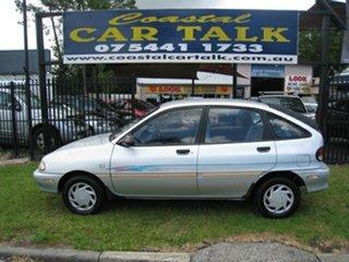 1995 Ford Festiva WB GLi Silver 3 Speed Automatic Hatchback.