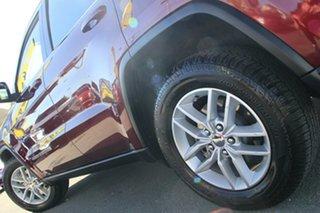 2017 Jeep Grand Cherokee WK MY18 Laredo Velvet Red 8 Speed Sports Automatic Wagon