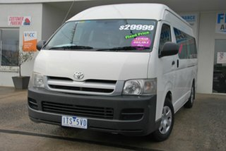 2005 Toyota HiAce TRH223R Commuter White 4 Speed Automatic Bus.