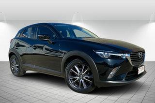 2017 Mazda CX-3 DK4W7A sTouring SKYACTIV-Drive i-ACTIV AWD Black 6 Speed Sports Automatic Wagon.