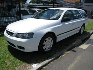 2006 Ford Falcon BF XT, LPG Only White 4 Speed Automatic Wagon.