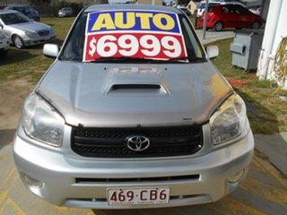2005 Toyota RAV4 ACA23R CV Sport Silver 4 Speed Automatic Wagon.