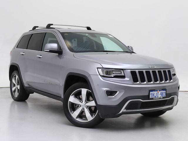 Used Jeep Grand Cherokee WK MY15 Limited (4x4), 2015 Jeep Grand Cherokee WK MY15 Limited (4x4) Silver 8 Speed Automatic Wagon