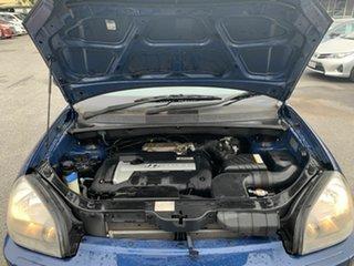 2005 Hyundai Tucson JM City Blue 4 Speed Automatic Wagon