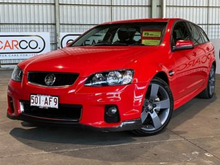 2012 Holden Commodore VE II MY12.5 SV6 Sportwagon Z Series Red 6 Speed Sports Automatic Wagon.