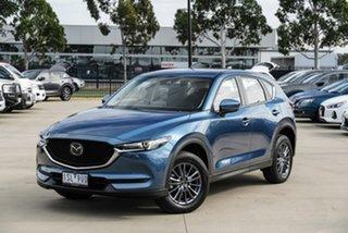 2020 Mazda CX-5 KF2W7A Maxx SKYACTIV-Drive FWD Sport Blue 6 Speed Sports Automatic Wagon.