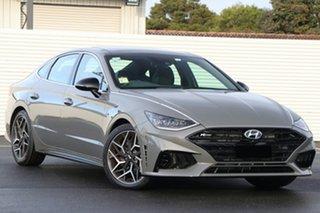 2021 Hyundai Sonata DN8.V1 MY21 N Line DCT Hampton Grey 8 Speed Sports Automatic Dual Clutch Sedan.