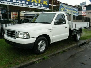 2005 Ford Courier PH GL Auto White 4 Speed Automatic Cab Chassis.