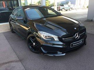 2014 Mercedes-Benz CLA-Class C117 CLA200 DCT Black 7 Speed Sports Automatic Dual Clutch Coupe.