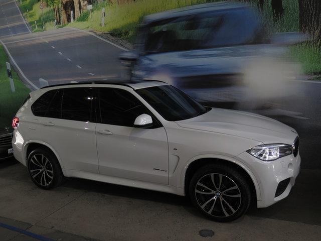 Used BMW X5 F15 MY16 xDrive 40D Osborne Park, 2017 BMW X5 F15 MY16 xDrive 40D White 8 Speed Automatic Wagon