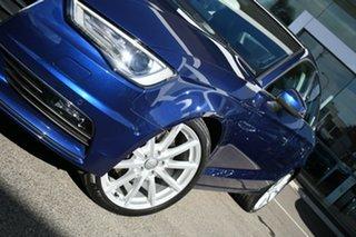 2014 Audi A3 8V MY15 1.8 TFSI Ambition Quattro Scuba Blue 6 Speed Direct Shift Sedan.