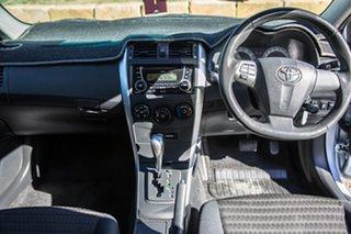 2013 Toyota Corolla ZRE152R Ascent Sport Blue 4 Speed Automatic Sedan