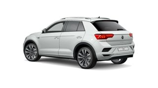 2021 Volkswagen T-ROC A1 MY21 110TSI Style White 8 Speed Sports Automatic Wagon.