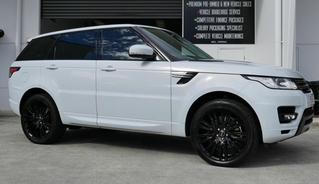 Used Land Rover Range Rover Sport L494 16MY SE Capalaba, 2016 Land Rover Range Rover Sport L494 16MY SE White 8 Speed Sports Automatic Wagon