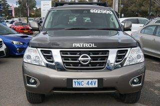 2019 Nissan Patrol Y62 Series 4 TI-L Silver 7 Speed Sports Automatic Wagon.