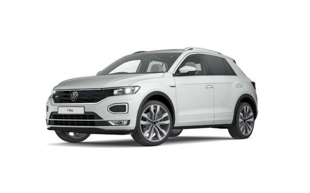 Demo Volkswagen T-ROC A1 MY21 110TSI Style Port Melbourne, 2021 Volkswagen T-ROC A1 MY21 110TSI Style White 8 Speed Sports Automatic Wagon