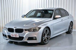 2016 BMW 3 Series F30 LCI 330e Sport Line Silver 8 Speed Sports Automatic Sedan Hybrid.