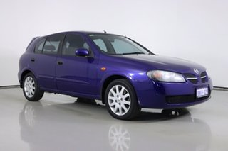 2003 Nissan Pulsar N16 MY03 Q Blue 4 Speed Automatic Hatchback.