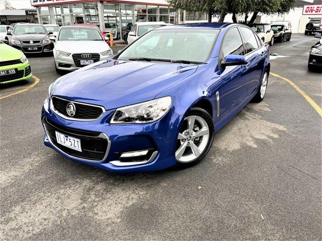 Used Holden Commodore VF II MY16 SV6 Seaford, 2015 Holden Commodore VF II MY16 SV6 Blue 6 Speed Sports Automatic Sedan